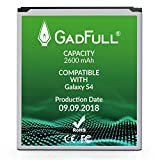 GadFull Battery Compatible with Samsung Galaxy S4 | 2018 Production Date | Corresponds to The Original EB-B600BE | Compatible with Galaxy S4 i9500 & LTE i9505