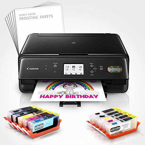 Edible Printer Bundle - Includes XL Edible Ink Cartridges, XL Cleaning Cartridges & Frosting Sheets