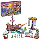 LEGO Friends Heartlake City Amusement Pier 41375 Toy Rollercoaster Building Kitwith Mini Dolls, Toy Dolphin, Build and Play Set Includes Toy Carousel, Ticket Kiosk and More, New 2019 (1,251 Pieces)