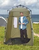 Lightspeed Outdoors Xtra Wide Quick Set Up Privacy Tent, Toilet, Camp Shower, Portable Changing Room