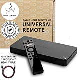 Caavo Control Center PLUS LIFETIME PLAN, Universal Remote Home Theater Hub with Voice Control works with Roku, Apple TV, nVidia Shield, Streaming Sticks, Sonos, Xbox One, PS4 and other A/V Devices