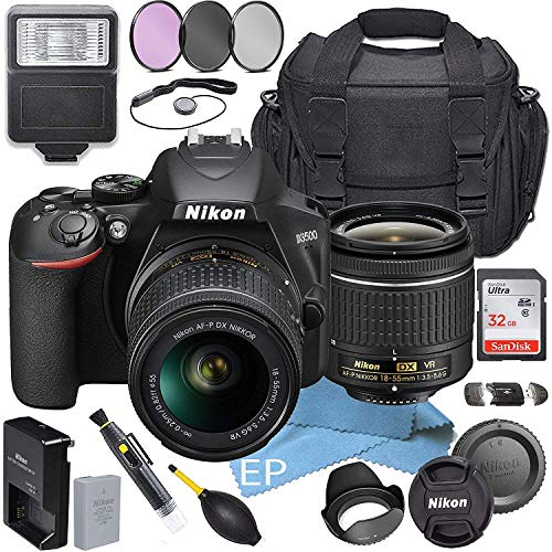 Nikon-D3500-WAF-P-DX-NIKKOR-18-55mm-f35-56G-VR-Accessory-Bundle-19pc-Bundle