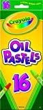 Crayola Crayola, Oil Pastels, Art Tools, 16 ct., Rich Colors, Great for Blending Colors