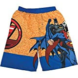 Justice League Boy Toddler Marvel Batman Superman Swim Trunks Size 4
