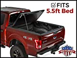 Gator Evo Hard Bi-Fold (fits) 2005-2014 Ford F150 5.5 FT Bed ONLY Bi Folding Tonneau Truck Bed Cover (GC25002) Made in The USA