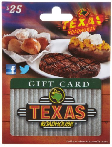 Amazrock Shop | Gift Card for Texas Roadhouse