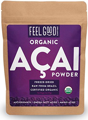 Organic ACAI Powder 100% Raw Antioxidant Superfood Berry