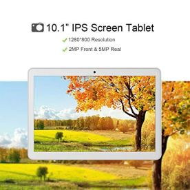 Android-Tablet-10-Inch-Android-81-Go-Unlocked-Tablet-PC-3G-Phablet-with-Dual-SIM-Card-Slots-Google-Certified-13GHz-1G16GB-Dual-Camera-WiFi-Bluetooth-GPS-Silver