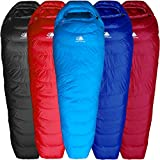 Hyke & Byke Shavano 32 Degree F 650 Fill Power Hydrophobic Down Sleeping Bag with ClusterLoft Base - Ultra Lightweight Men's and Women's Mummy Bag Designed for Summer Backpacking
