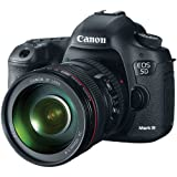 Canon EOS 5D Mark III 22.3 MP Full Frame CMOS Digital SLR Camera with EF 24-105mm f/4 L IS USM Lens International Version (No warranty)