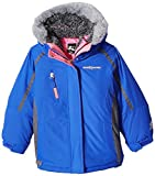 ZeroXposur Little Kiara Jvi Girls 3in1 System Jacket, Larkspur, Medium