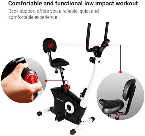 Loctek Exercise Bike Desk Bike Office Cardio Indoor ...