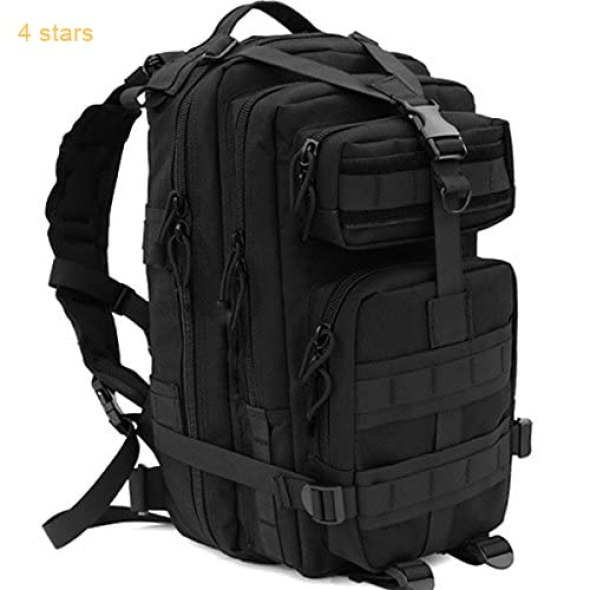 92130d7a04c8 CVLIFE Outdoor Tactical Backpack Military Rucksacks for Camping Hiking and  Trekking Waterproof 30L