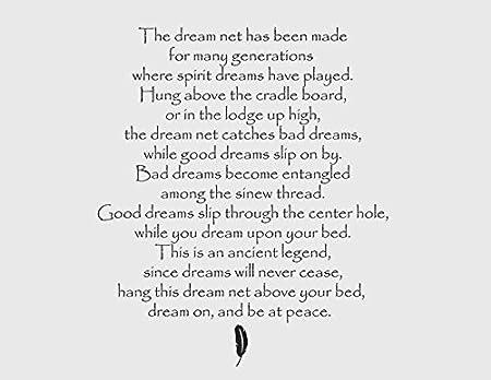 Dream Catcher Legend Poem Creativepoemco Fascinating Dream Catcher Poem For Kids