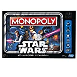 Hasbro Gaming Monopoly Game: Star Wars 40th Anniversary Special Edition