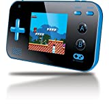My Arcade Gamer V Portable Gaming System - 220 Built-in Retro Style Games and 2.4' LCD Screen - Blue/Black