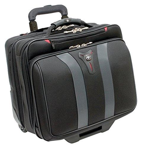 Swissgear Granada Rolling Case Nylon for Upto 17-Inch Notebooks - Black
