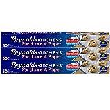 Reynolds Kitchens Parchment Paper (SmartGrid, Non-Stick, 50 Square Foot Roll, 3 Count)