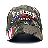 Donald Trump Hat Camouflage Cap Keep America Great MAGA Hat President 2020 American Flag USA