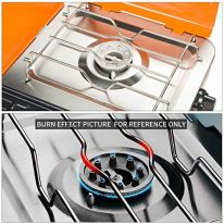 PUPZO-Liquid-Propane-Grill2-Burner-GrillStove-Portable-Barbecue-Grill-Outdoor-Cooking-Camping-Stove-Stainless-Steel-Orange