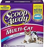 Scoop Away Multi-Cat Formula Clumping Cat Litter (25 lbs)