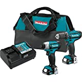Makita CT226 12V Max CXT Lithium-Ion Cordless 2-Pc. Combo Kit (1.5Ah)
