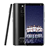 LEAGOO S8 5.72-Inch HD+ IPS OS Android 7.0 3GB RAM, 32GB ROM, MT6750T Octa Code, Battery 2940mAh, 4G Global Network Frequency Smartphone - (Dazzle Black)