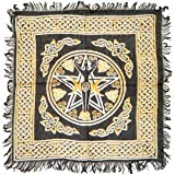 "Pentagram Goddess Altar Cloth 18""x18"""