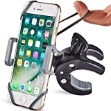 Metal Bike & Motorcycle Phone Mount - The Only Unbreakable Handlebar Holder for iPhone, Samsung or Any Other Smartphone | +100 to Safeness & Comfort