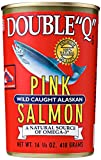 "Double ""Q"" Pink Wild Caught Alaskan Salmon, 14.75 Ounce"