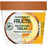 Garnier Fructis Nourishing Treat 1 Minute Hair Mask, 13.5 fl. oz. - Coconut
