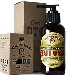 Medicine Man's Itchy Beard Wash 4,7 FL OZ - 100% Natural & Organic  Image