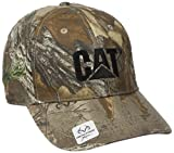 Caterpillar Men's Trademark Cap, Realtree One Size
