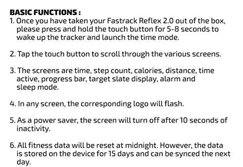fastrack reflex 2.0