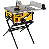 DEWALT DWE7480XA 10 in. Portable Table Saw with Table Saw Stand