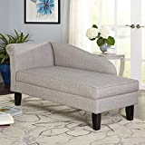 Product review for Grey Leena Storage Chaise Lounge
