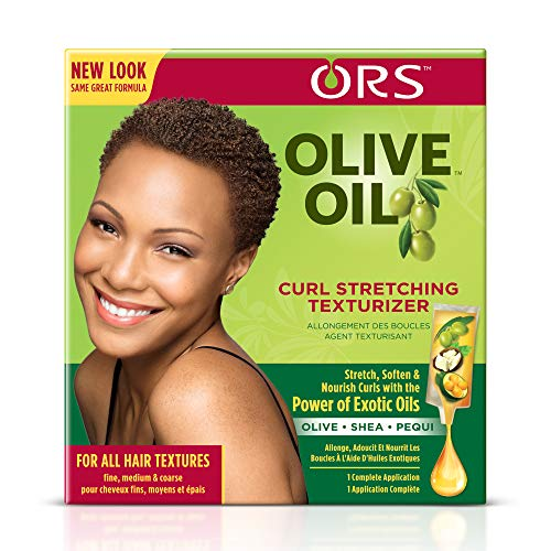 Organic Root Stimulator Olive Oil Curl Stretching Texturizer, Fine/Medium/Coarse
