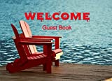Guest Book for Vacation Home, Lake Edition: 8.25 x 6 inch size Guest Log Book for Vacation Rental, Airbnb, VRBO and more