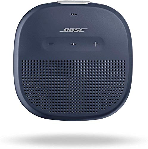 Bose SoundLink Micro: Small Portable Bluetooth Speaker (Waterproof), Midnight Blue 1