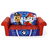Marshmallow Furniture, Children's 2 in 1 Flip Open Foam Sofa, Nickelodeon Paw Patrol, by Spin Master