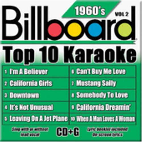 Billboard Top-10 Karaoke - 1960's Vol. 2 (10+10-song CD+G)