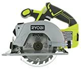 Ryobi P506 One+ Lithium Ion 18V 5 1/2 Inch 4,700 RPM Cordless Circular Saw with Laser Guide and Carbide-Tipped Blade (Battery Not Included, Power Tool Only) - (Renewed)