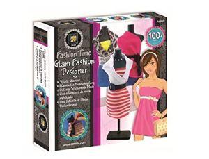 Mav Toys Fashion Time Glam Fashion Designer -DIY, Create Mix & Match Outfits & Fashion Creations – Easy to Use, No…