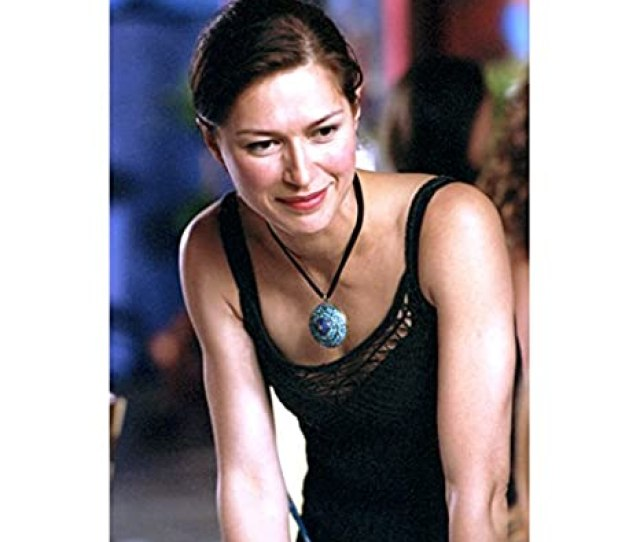 The L Word Karina Lombard As Marina In Black Tank Top Hair Pulled In Ponytail  Inch Photo At Amazons Entertainment Collectibles Store