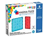 Magna Tiles 8Piece Rectangles Expansion Set - The Original, Award-Winning Magnetic Building Tiles - Creativity & Educational - Stem Approved