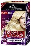 Schwarzkopf Keratin Color Anti-Age Hair Color Cream, 12.0 Light Pearl Blonde (Packaging May Vary)