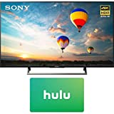 Sony XBR-43X800E 43-inch 4K HDR Ultra HD Smart LED TV (2017 Model) w/1 Month Netflix Subscription