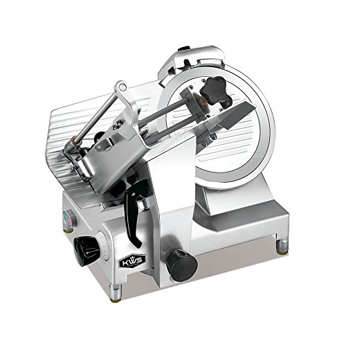KWS Premium 450w Electric Meat Slicer with Stainless Blade