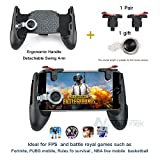 Mobile Game Controller,Game Pad Sensitive Shoot and Aim Keys Joysticks Game Controller for IOS and Android