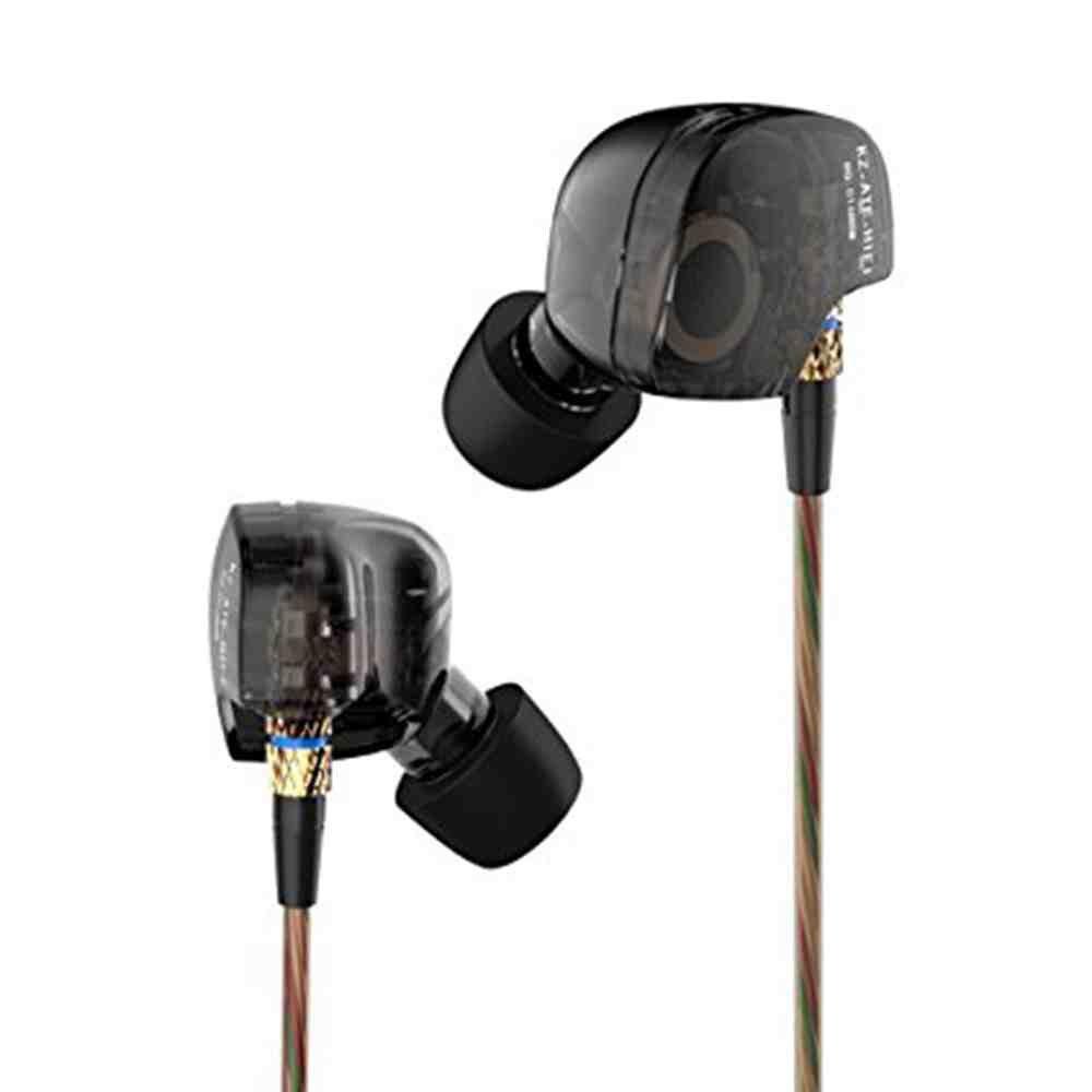 KZ-ATE Dynamic Balanced Armature Earphones With Mic